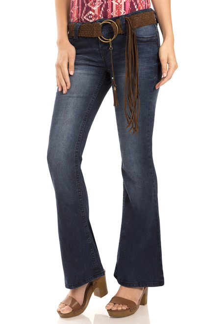 Starlette Fit and Flare Jeans In Mason