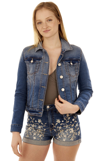Basic Dreamer Denim Jacket In Tessa