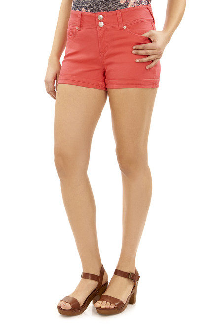 Luscious Curvy Modal Shorts In Watermelon