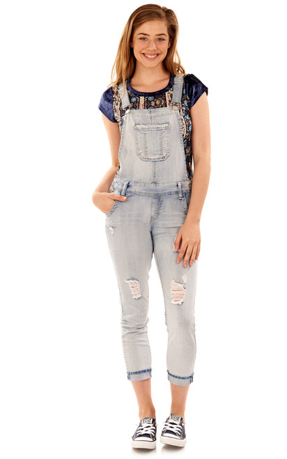 Denim Overalls In Samantha