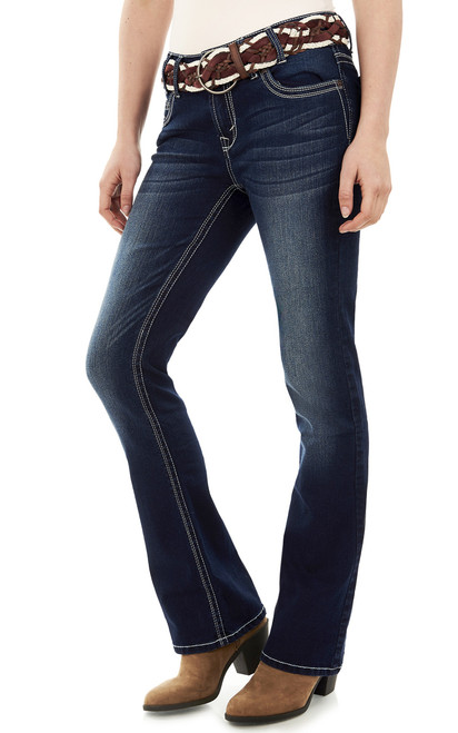 Luscious Curvy Bootcut Jeans In Sandra