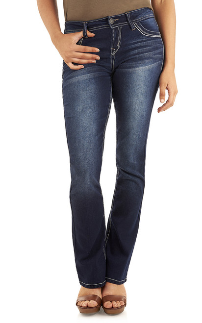 Long Inseam Classic Legendary Bootcut Jeans In Amy