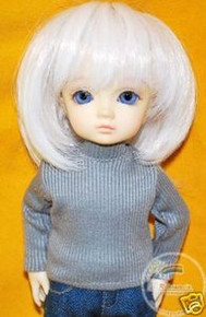 Dollfie Yo-SD Outfit Turtleneck Top Grey