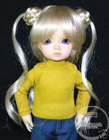 Dollfie Yo-SD Outfit Turtleneck Top Yellow