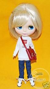 Blythe Blond Side Half-Ponytail 10/11 Wig #L037-613