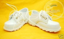Classic Lace-Up Boy Shoes White for SD13 Boy Rainy Girl BJD Dollfie Dolls
