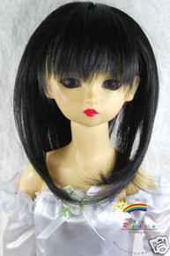 Dollfie SD Black Layer 8-9 Heat Resistance Wig #D3093