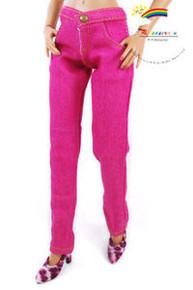 """16"""" Tonner Tyler/Antoinette Outfit Skinny Jeans Fuchsia"""