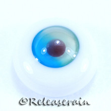 BJD Dollfie Doll Glass Eyes L.Green Mix Lake 14mm #PP05