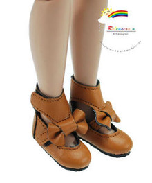 "Mud Mary Jane Bow Boots Shoes for 12"" Tonner Marley"