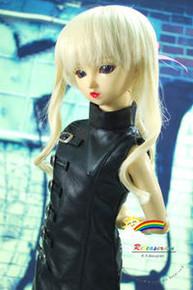 Dollfie SD Blond Curl 8-9 Heat Resistant Wig #D3138