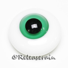 BJD Dollfie Doll Glass Eyes Jelly Green 18mm #JC05