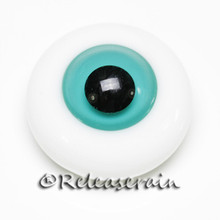 BJD Dollfie Doll Glass Eyes Jelly Turquoise 18mm #JC03