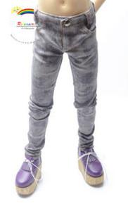 Dollfie SD13 Boy Purple/G Tie-Dye Washed Skinny Jeans