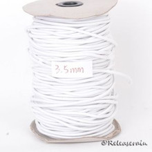 3.5mm Doll Elastic Cord String White for Stringing BJD Ball Jointed Dolls 5yards