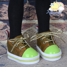 """Lace-Up Chunky Sneakers Shoes #K12 for MSD Kaye Wiggs BJD Dollfie 16"""" Sasha Doll"""