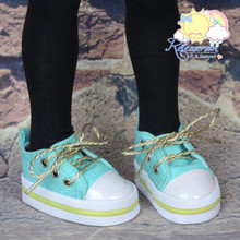 """Lace-Up Chunky Sneakers Shoes #K07 for MSD Kaye Wiggs BJD Dollfie 16"""" Sasha Doll"""