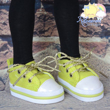 """Lace-Up Chunky Sneakers Shoes #K08 for MSD Kaye Wiggs BJD Dollfie 16"""" Sasha Doll"""