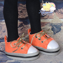"""Lace-Up Chunky Sneakers Shoes #K20 for MSD Kaye Wiggs BJD Dollfie 16"""" Sasha Doll"""