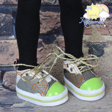 """Lace-Up Chunky Sneakers Shoes #K04 for MSD Kaye Wiggs BJD Dollfie 16"""" Sasha Doll"""