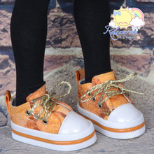 """Lace-Up Chunky Sneakers Shoes #K19 for MSD Kaye Wiggs BJD Dollfie 16"""" Sasha Doll"""