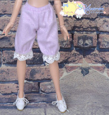 Doll Clothes Fluffy Lace Bloomers Pants Lt Purple for Tyler Ellowyne Wilde MSD