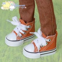 "Doll Shoes Ankle Sneakers Boots Rust for MSD BJD Dollfie Minifee 17"" Tonner Matt"