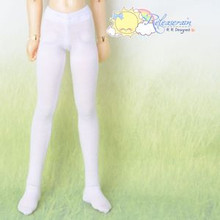 Doll Clothes Pantyhose Tights White for MSD Kaye Wiggs Minifee Unoa BJD Dollfie