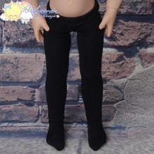 "Stretch Knit Pantyhose Stockings Tights Black for 12"" Kish Bethany Dolls"