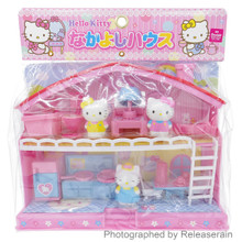 Muraoka Sanrio Hello Kitty Nakayoshi Good friends 1:24 Doll Play House Miniatures Dollhouse Japan Import