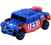 Takara Tomy Dream Tomica Marvel Captain America Cruiser Diecast Toy No.144 Japan Import