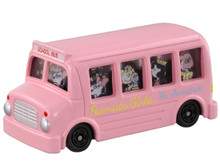 Takara Tomy Dream Tomica Snoopy Peanuts Girls Bus Diecast Toy Pink Japan Import