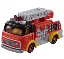Takara Tomy Disney Motors Works DM-17 Mickey Mouse Fire Truck Diecast Toy Japan Import