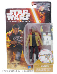 "Star Wars The Force Awakens Basic Figure 3.75"" Finn (Jakku) Takara Tomy Japan"