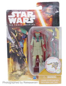 "Star Wars The Force Awakens Basic Figure 3.75"" Constable Zuvio Takara Tomy Japan"