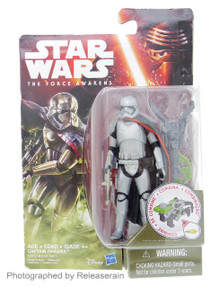 "Star Wars The Force Awakens Captain Phasma 3.75"" Basic Figure Takara Tomy Japan"