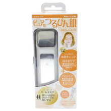 Japan Gals Sonic Mini Japanese Ultra-Sonic & Ion Facial Device with Moisturizing Gel JSI-8017 White Japan Import