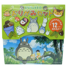 Ensky Nibariki Studio Ghibli My Neighbor Totoro Origami Paper Craft Set Japan Exclusive Made in Japan