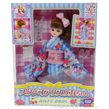 Takara Tomy Studio Alice Licca-Chan Honey Shower Sunday Best Kimono Licca Doll Japan Import