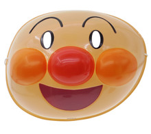 Anpanman PVC Costume Party Japanese Omen Mask For Children/Kids Made in Japan