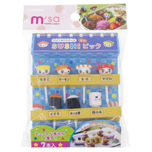 Torune Mama's Assist Lunch Box Accessories Bento Decoration Japanese Sushi Food Picks Set of 7 Pieces Japan Import