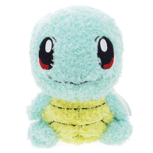 "Sekiguchi Pocket Monster Pokemon MokoMoko Fluffy Squirtle Zenigame 7"" Plush Doll Japan Import"