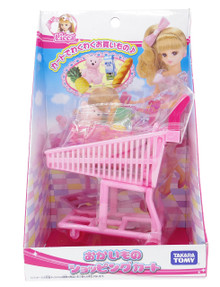 Takara Tomy Licca Chan Supermarket Grocery Shopping Cart Doll Accessories Play Set Japan Import