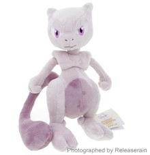 "Sanei Pocket Monsters Pokemon All Star Collection PP24 Mewtwo (S) 10"" Plush Doll Japan Import"