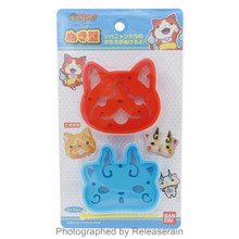 Torune Yo-Kai Yokai Watch Jibanyan Komasan Bento Food Lunch Mold Pick Kit Japan Import