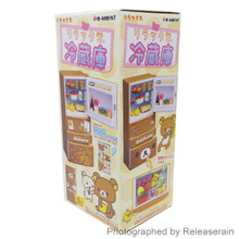 Re-Ment Dollhouse Miniature San-X Rilakkuma Refrigerator Fridge Set Japan Import