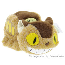 Sun Arrow Studio Ghibli My Neighbor Totoro Soft Fluffy Beanbag Catbus Nekobasu 16cm Stuffed Plush Doll Japan Import