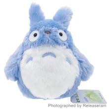 Sun Arrow Studio Ghibli My Neighbor Chu Totoro Blue 21cm Height S Size Fluffy Stuffed Plush Doll Japan Import