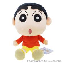Sanei Crayon Shin-Chan Shinnosuke Nohara M Size 30cm Stuffed Plush Doll Japan Import