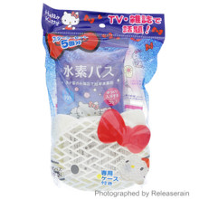 NTC Deram Max Sanrio Hello Kitty Hydrogen Bus Suiso Bath Salt 5 Packs with Special Case Starter Kit Set Made in Japan